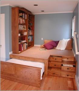 Storage bed solution