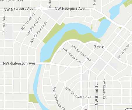 Map Search of Central Oregon