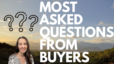 FAQs From Buyers