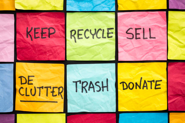 keep, recycle, sell graphic