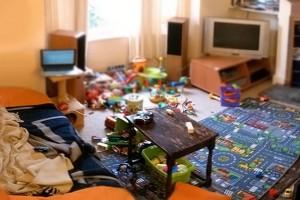 Room clutter