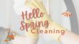 Spring Into Cleaning